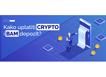 How to make payment of crypto and BAM deposit?